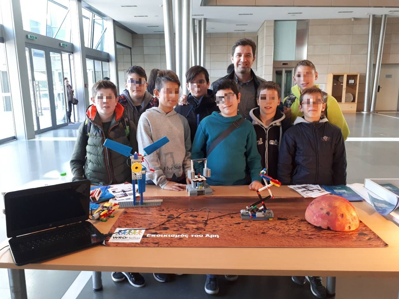Παρουσίαση του Πανελλήνιου Διαγωνισμού Εκπαιδευτικής Ρομποτικής 2018
