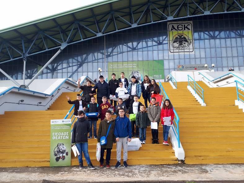 20 Σαλαμίνιοι Μαθητές στο Πανελλήνιο Διαγωνισμό Εκπ. Ρομποτικής 2018
